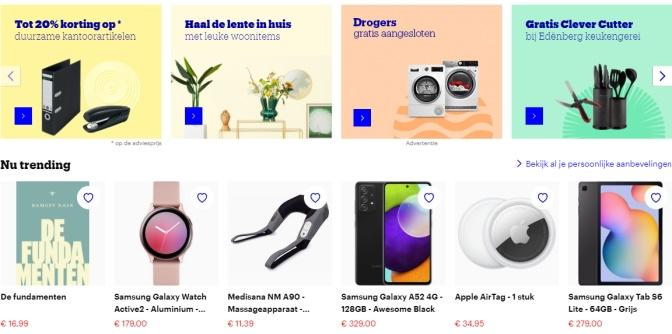 gepersonaliseerde-homepagina-best-verkochte-producten
