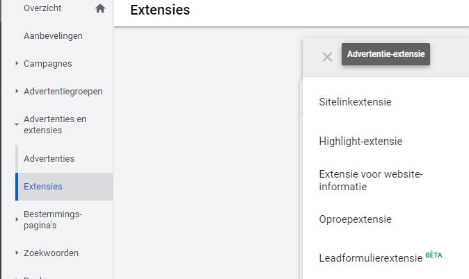 google-ads-leadformulierextensie-blog