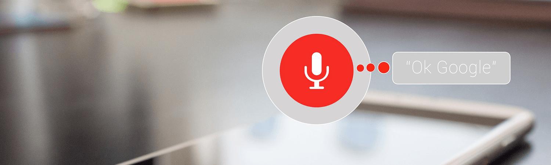 Voice zoekopdrachten